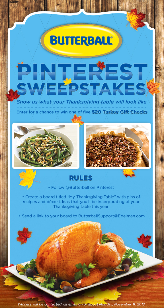 Thanksgiving Sweeps Graphic